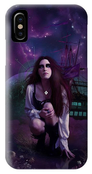 Cassiopeiaart iPhone Case - The Explorer by Cassiopeia Art
