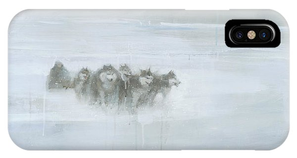 IPhone Case featuring the painting The Explorer by Steve Mitchell