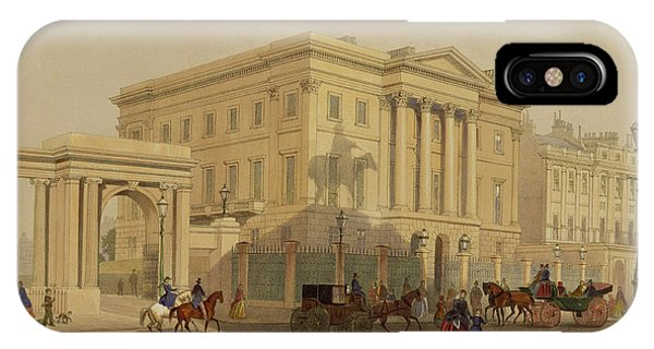 The Exterior Of Apsley House, 1853 IPhone Case
