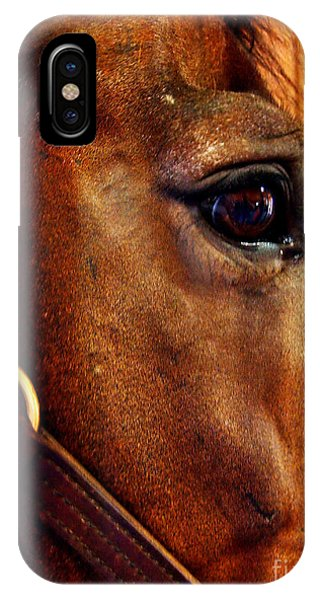 The Eye Of A Champion Da Hoss IPhone Case