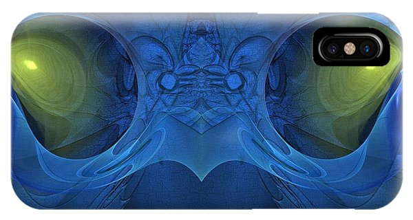 The Eyes Of The Shaman - Surrealism IPhone Case