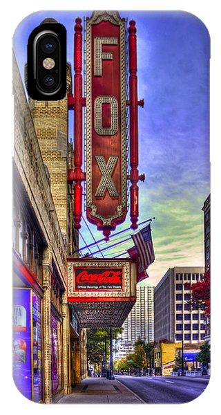 The Fabulous Fox Atlanta Georgia. IPhone Case