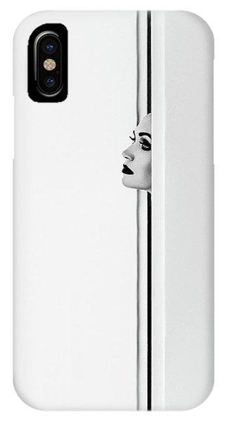Lips iPhone Case - The Face by Ruslan Bolgov (axe)
