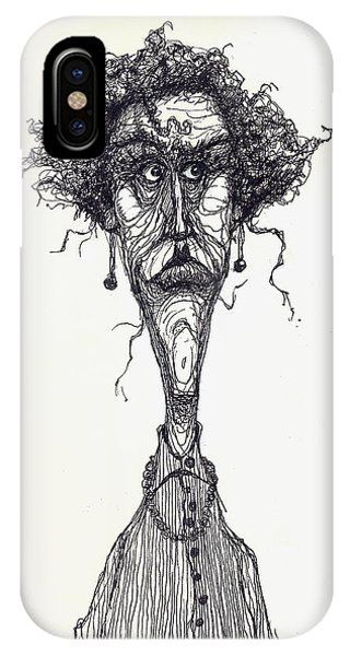 The Face Phone Case by Wayne Carlisi