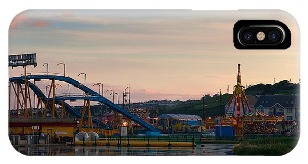 Funfair iPhone Case - The Fairground ,tramore, County by Panoramic Images