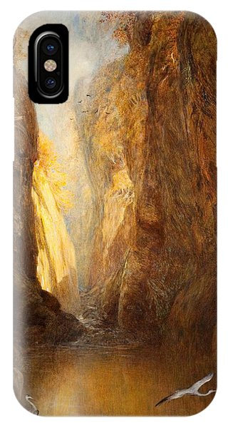 Fairy Glen iPhone Case - The Fairy Glen, Bettws-y-coed by Henry Clarence Whaite