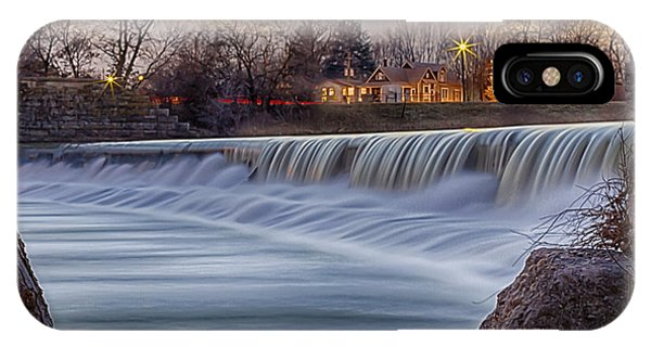 The Falls Of White River IPhone Case