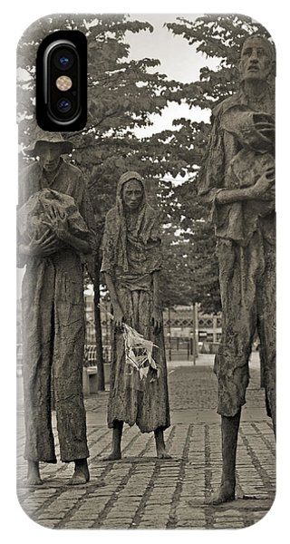 The Famine Dublin Ireland IPhone Case