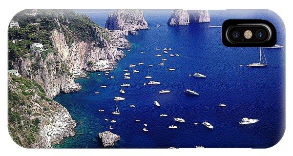 The Faraglioni Of Capri IPhone Case