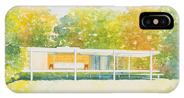The Farnsworth House IPhone Case