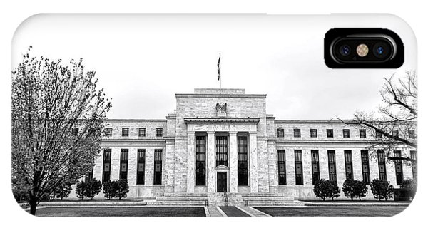 D.c. iPhone Case - The Federal Reserve  by Olivier Le Queinec