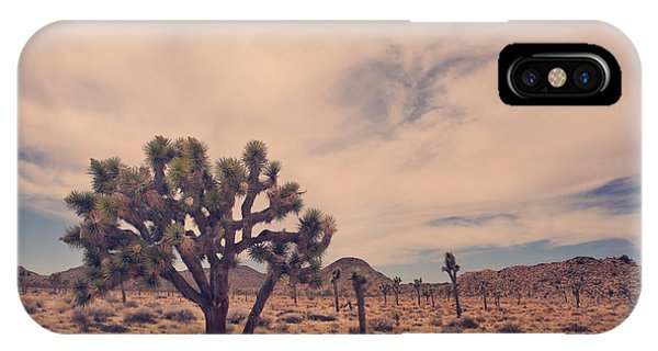Desert iPhone Case - The Feeling Of Freedom by Laurie Search
