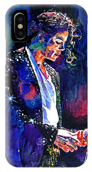Michael iPhone Case - The Final Performance - Michael Jackson by David Lloyd Glover