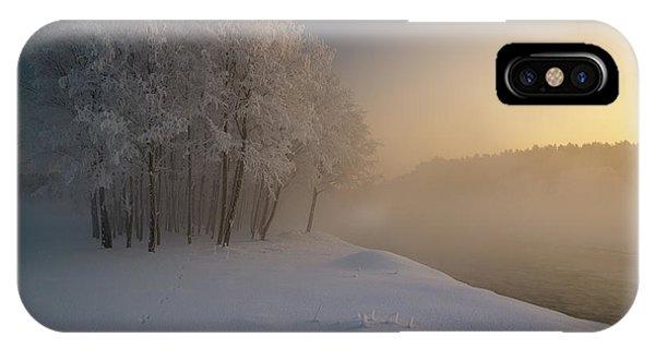 Winter iPhone Case - The First... by Krzysztof Mierzejewski