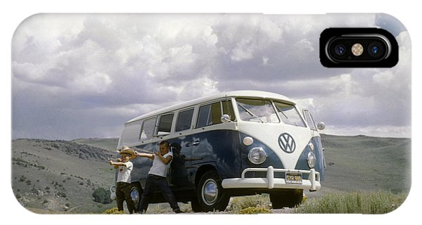 IPhone Case featuring the photograph The First Of Many Volkswagens  by David Bailey