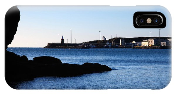 Dunmore East iPhone Case - The Fishing Harbour, Dunmore East by Panoramic Images