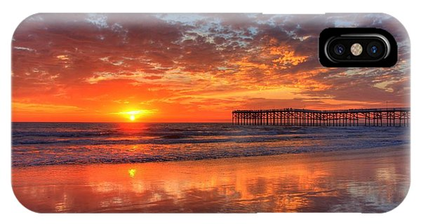 The Flame Of Pacific Beach IPhone Case