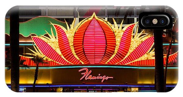 The Flamingo Hotel And Casino Las Vegas IPhone Case