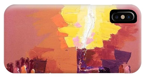 The Flare A Beacon Of Hope And Anguish IPhone Case
