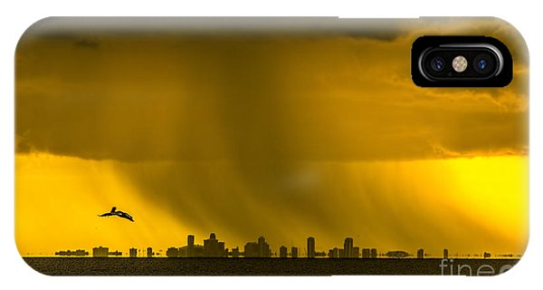 Illusion iPhone Case - The Floating City  by Marvin Spates