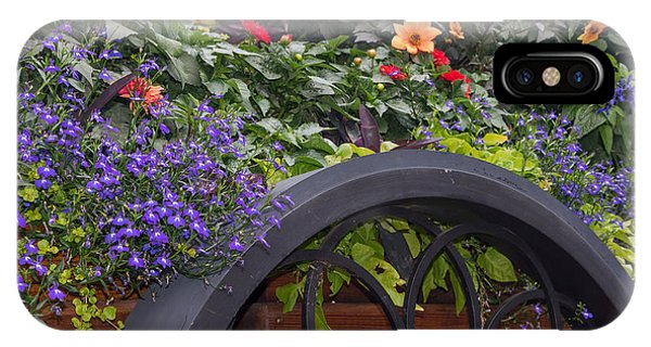 Wagon Wheel iPhone Case - The Flower Cart by Paul Quinn