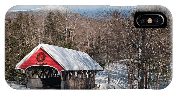 The Flume Bridge In Winter IPhone Case