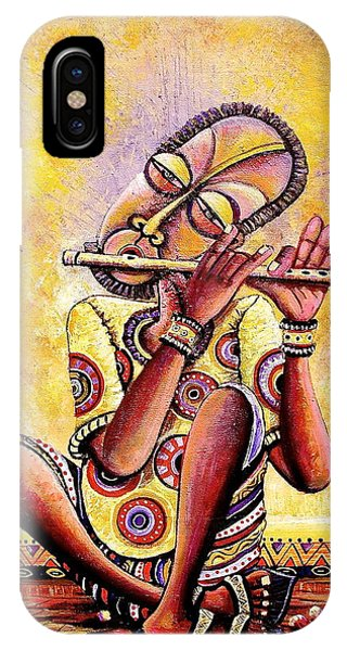 The Flutist IPhone Case
