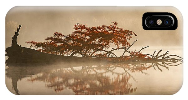 Morning Mist iPhone Case - The Flying Dutchman by Barr? Thierry