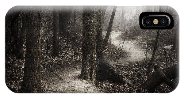 Fog Mist iPhone Case - The Foggy Path by Scott Norris