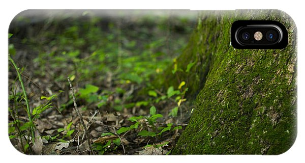 The Foot Of A Tree Phone Case by Michael Williams