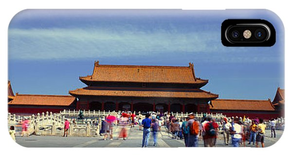 Forbidden City iPhone Case - The Forbidden City - Tai He Men Gate by Panoramic Images