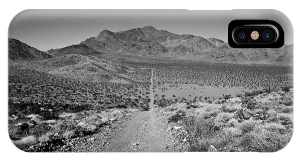 Road iPhone Case - The Forever Road by Peter Tellone