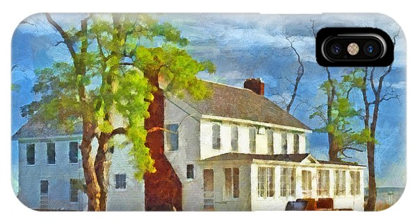 The Former Sleeping Bear Inn / Glen Haven Michigan IPhone Case