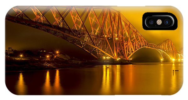 The Forth Bridge From North Queensferry IPhone Case