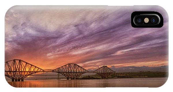 The Forth Rail Bridge IPhone Case
