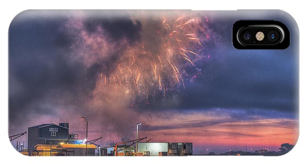 4th July iPhone Case - The Fourth by Christopher Cutter