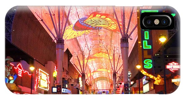 The Fremont Street Experience IPhone Case