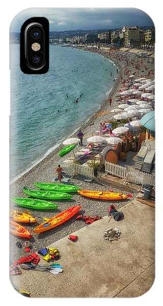 The French Riviera IPhone Case