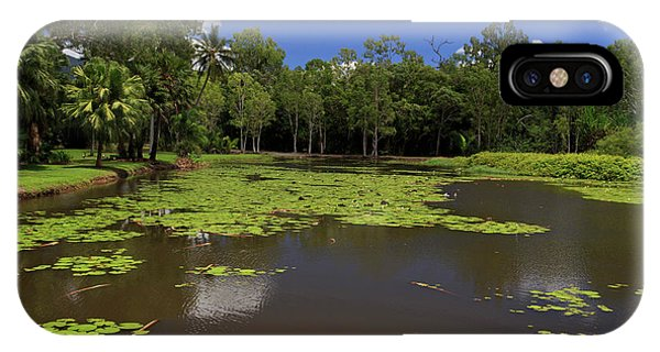Far North Queensland iPhone Case - The Fresh Water Lake Section by Paul Dymond