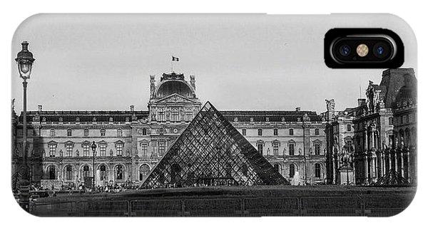 The Full Louvre Denise Dube IPhone Case