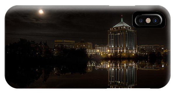 The Full Moon Over The Dudley Tower IPhone Case
