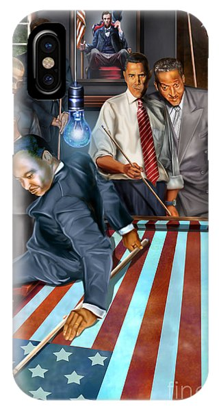 Political iPhone Case - The Game Changers And Table Runners by Reggie Duffie
