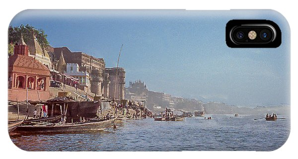 The Ganges River At Varanasi IPhone Case