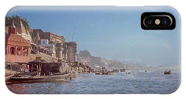 The Ganges River At Varanasi IPhone Case