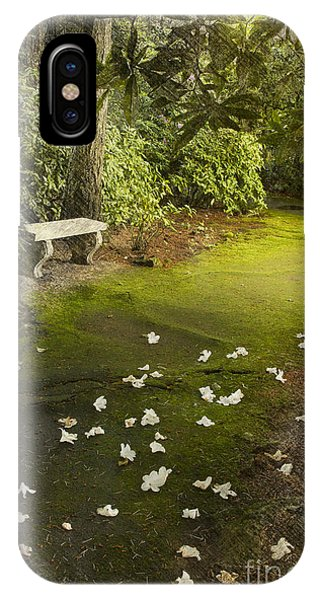 The Garden Bench IPhone Case