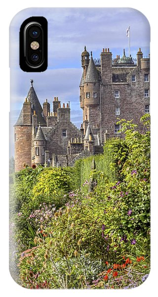 The Garden Of Glamis Castle IPhone Case