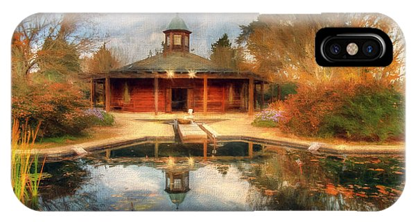 The Garden Pavilion IPhone Case