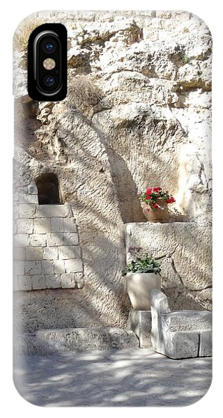 The Garden Tomb  In Jerusalem IPhone Case