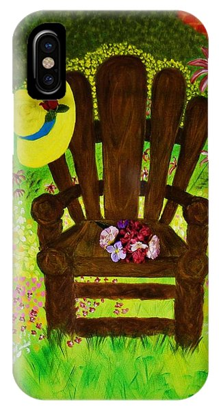 The Gardener's Chair IPhone Case