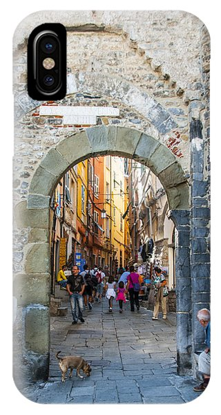 The Gate To Old Town IPhone Case
